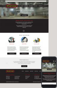 Web Design: Brightwise Cleaning Northampton