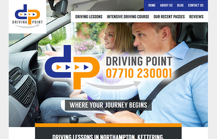 Web Design: Driving Point