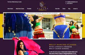 Web Design: Hasina Bellydance