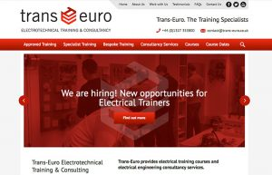 Web Design: Trans-Euro Engineering Services